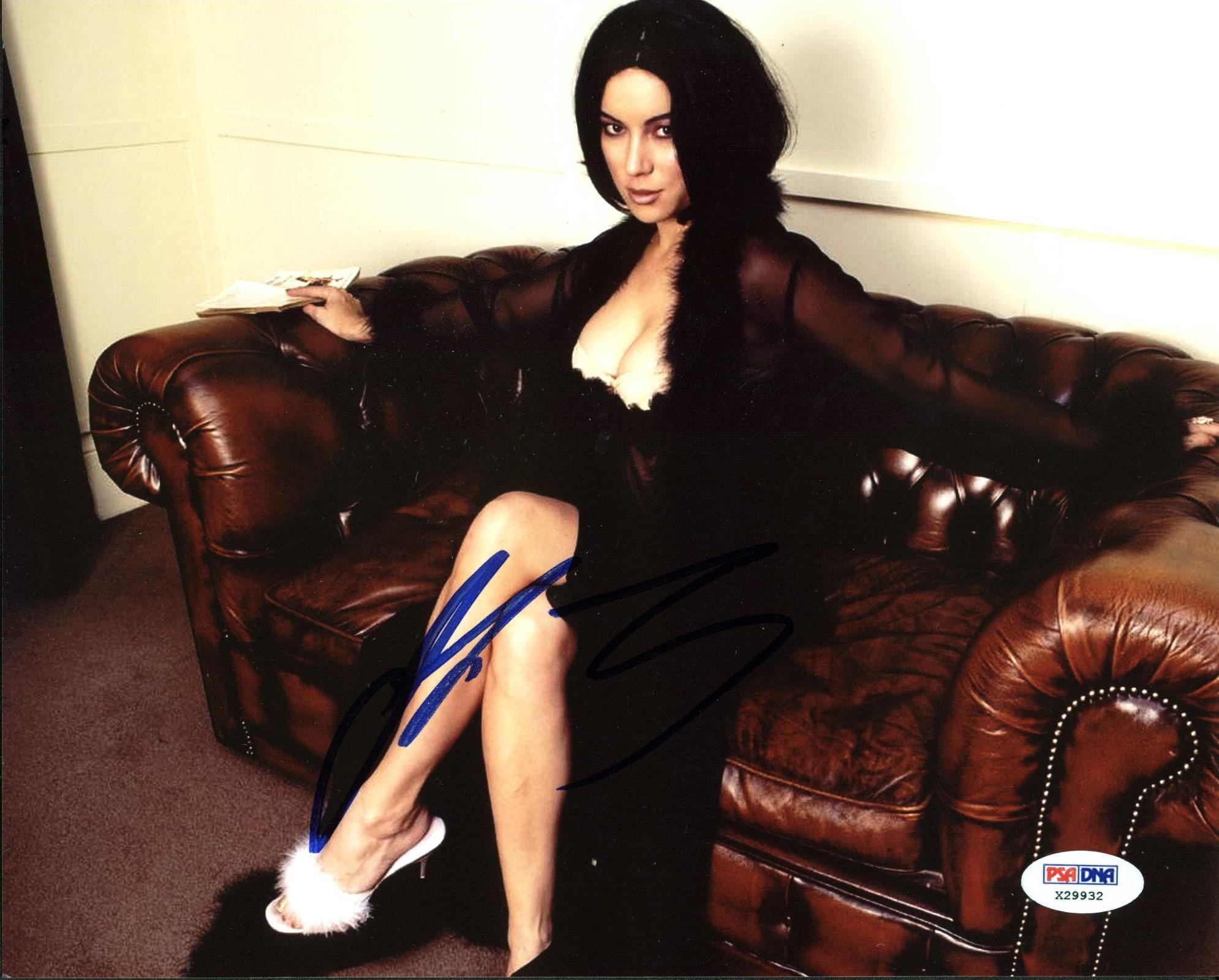 sexy JENNIFER TILLY signed PSA/DNA 11X14 photo bride of