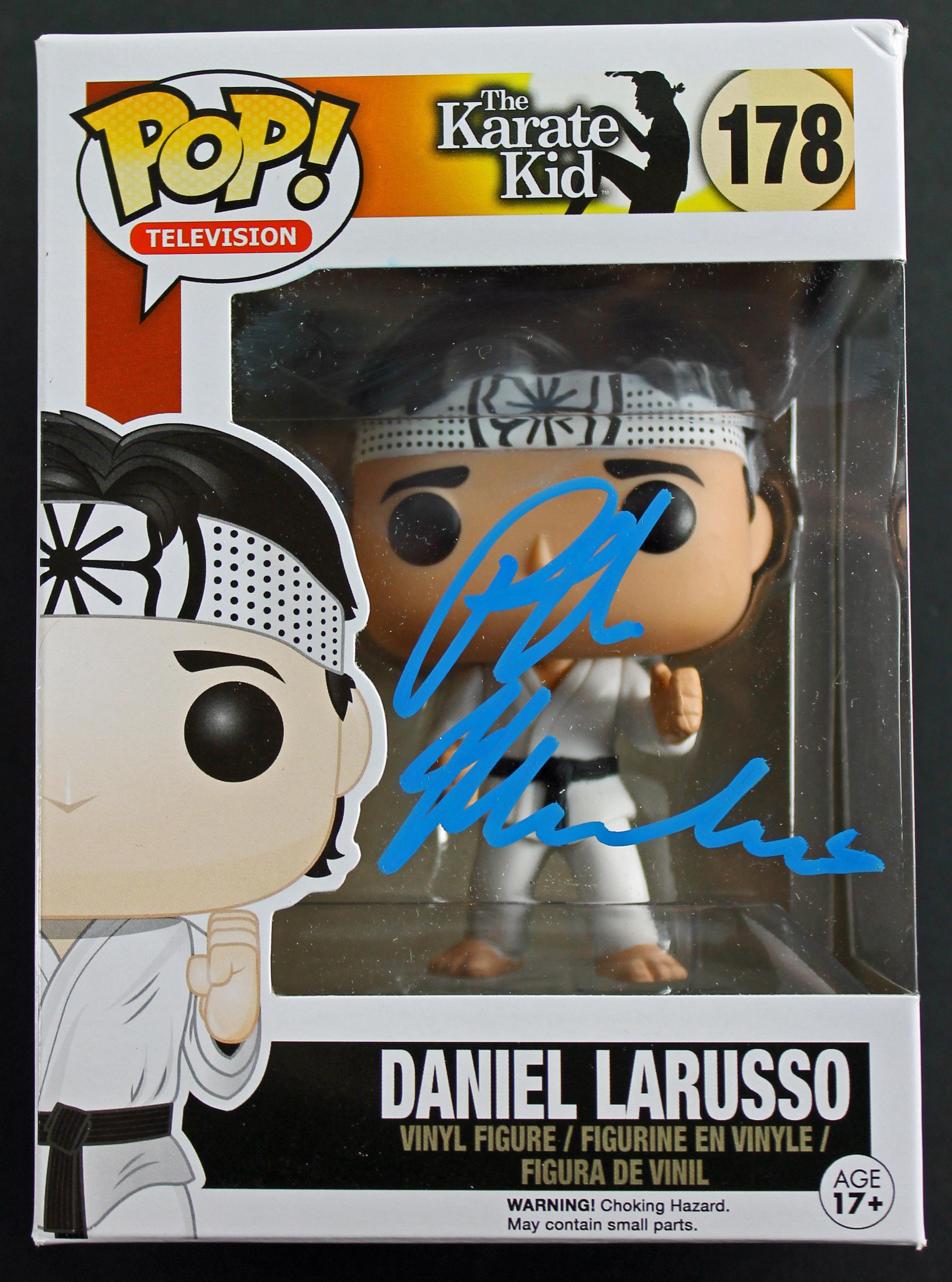 Ralph Macchio Authentic Signed The Karate Kid Funko Pop Vinyl Figure PSA/DNA