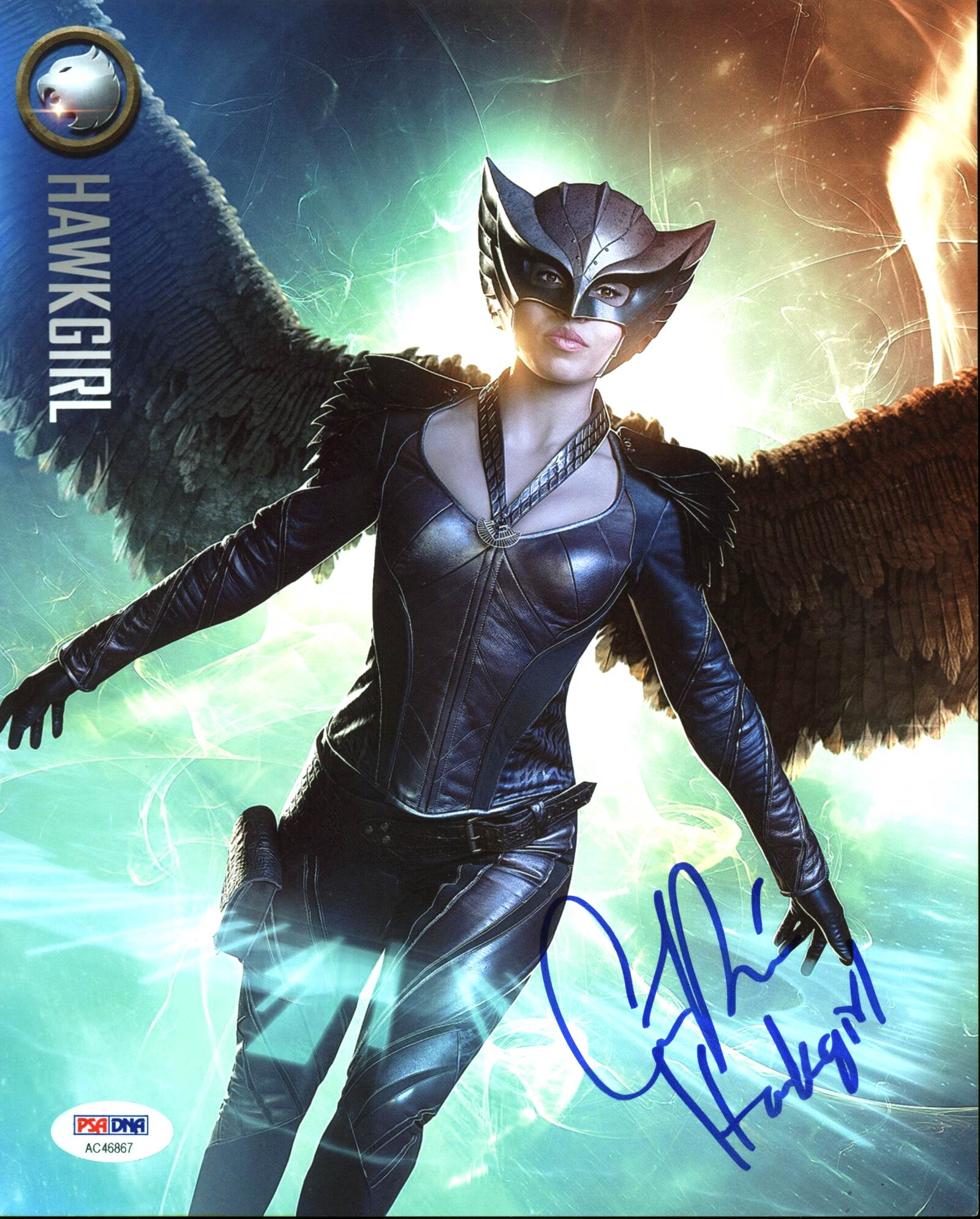 "Ciara Renee Legends of Tomorrow ""Hawkgirl"" Signed 8X10 Photo PSA/DNA #AC46867"