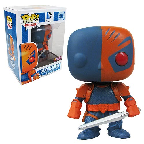 Deathstroke 49 PX PREVIEWS EXCLUSIVE DC Comics Funko Pop Heroes Vinyl Figure