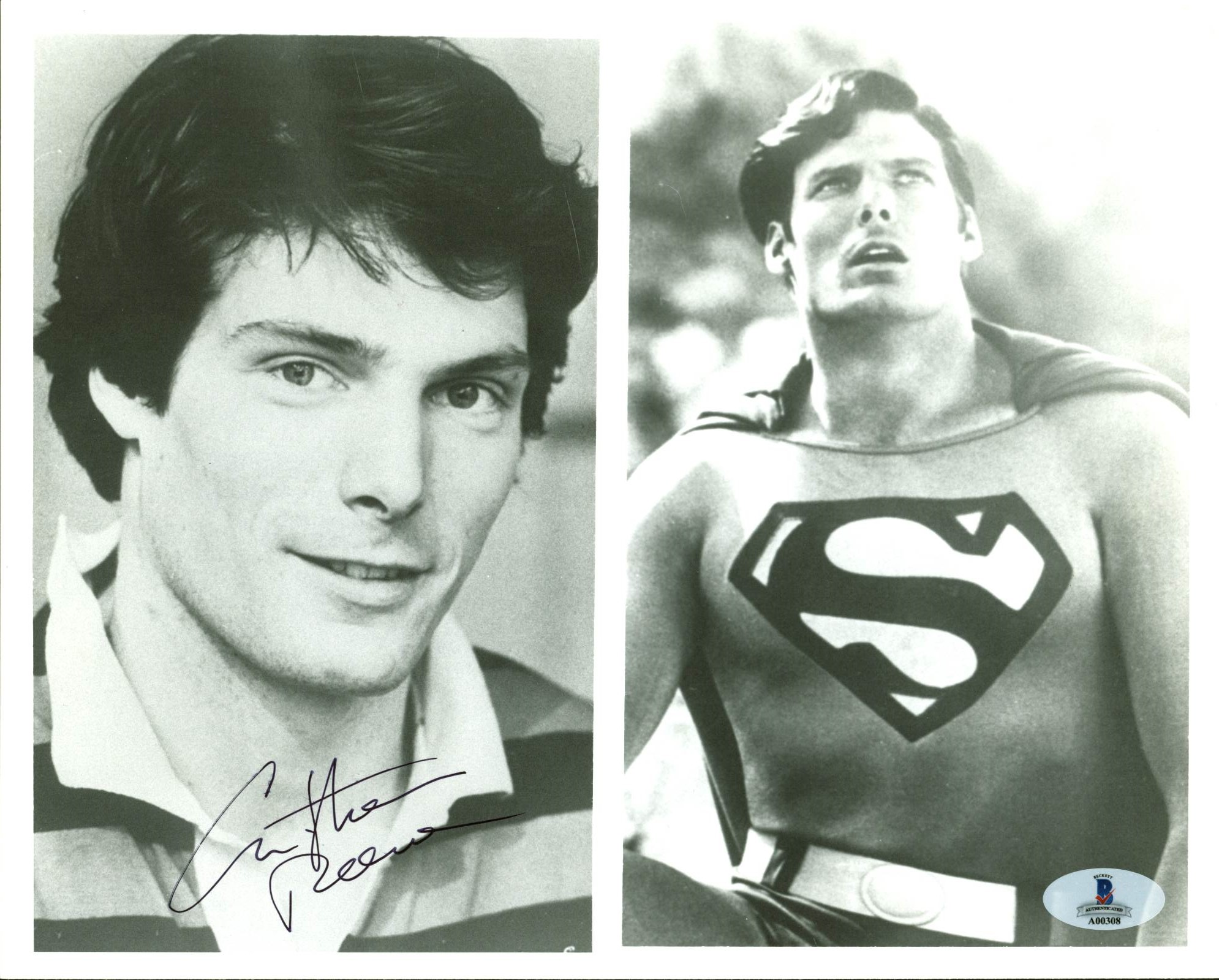 Christopher Reeve Autographed 8x10 Photo VIP-A00329