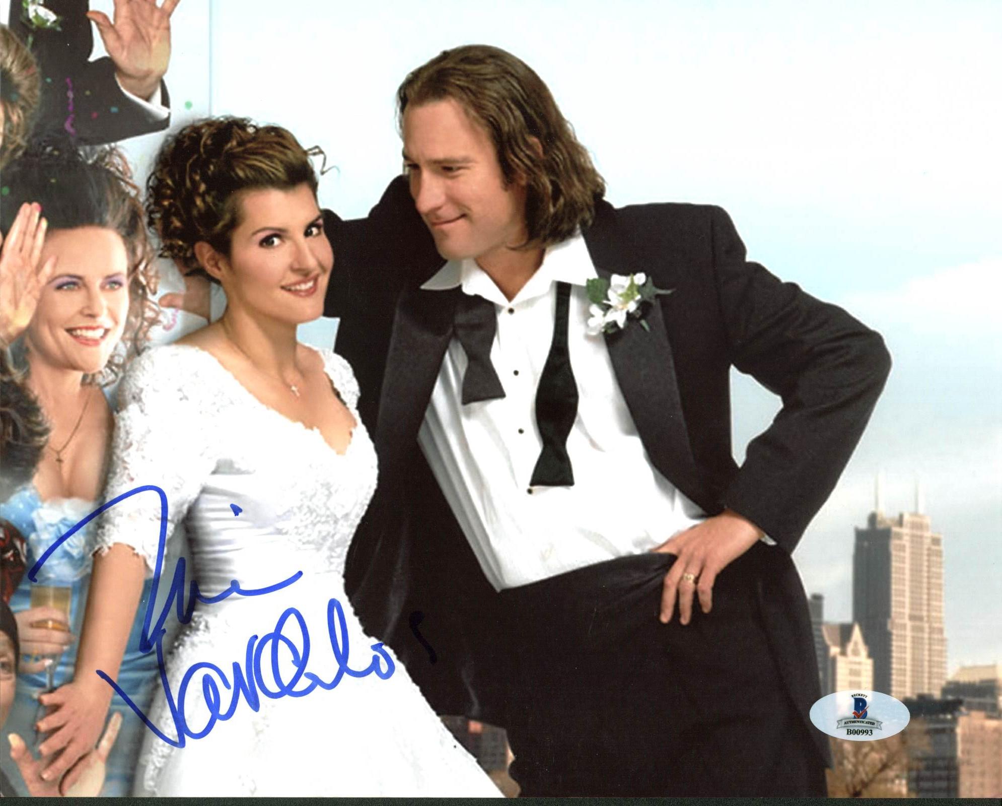 Nia Vardalos My Big Fat Greek Wedding Authentic Signed 8X10 Photo BAS #B00993