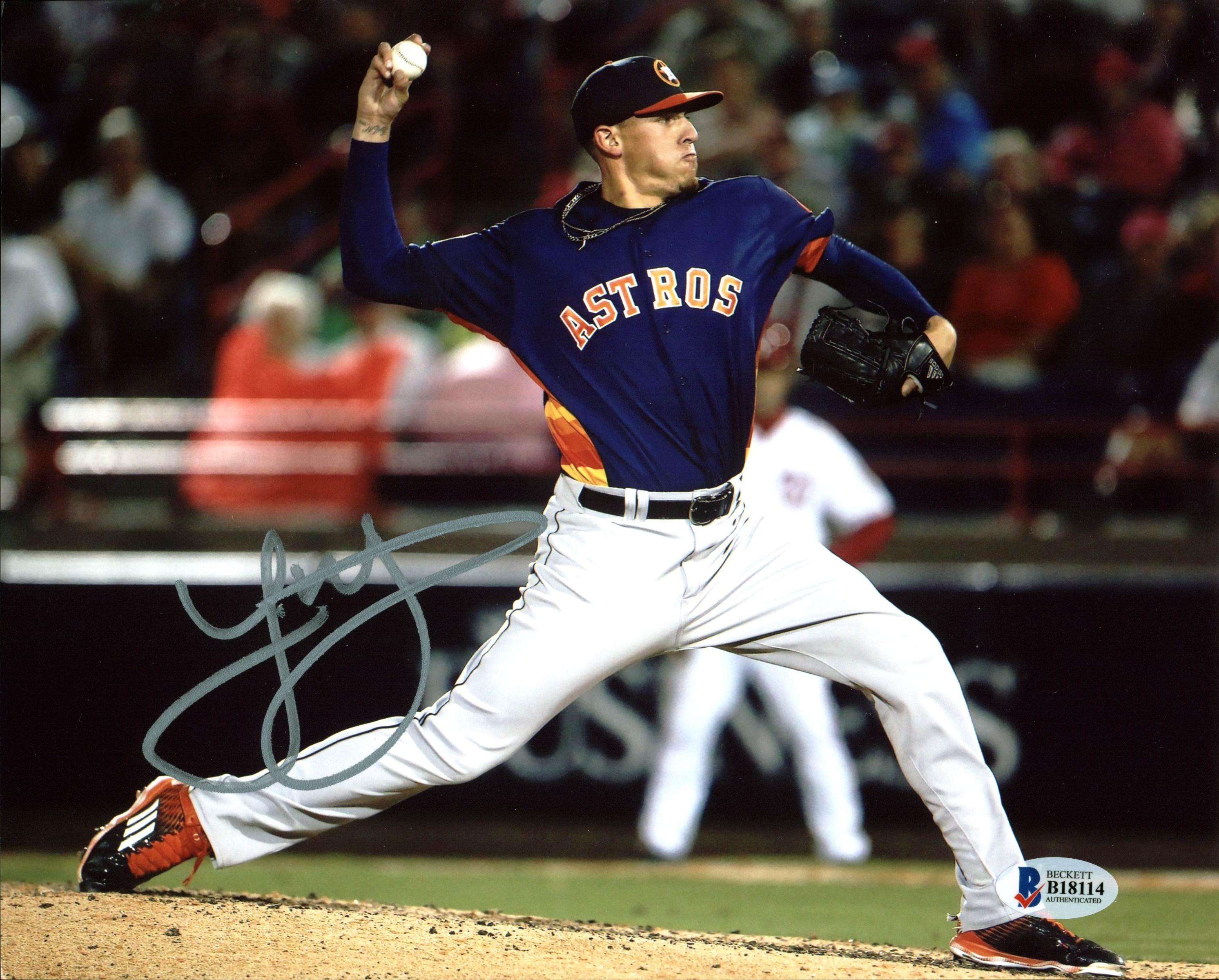 Jose Altuve Houston Astros Autographed 8x10 Photo VIP-B04488