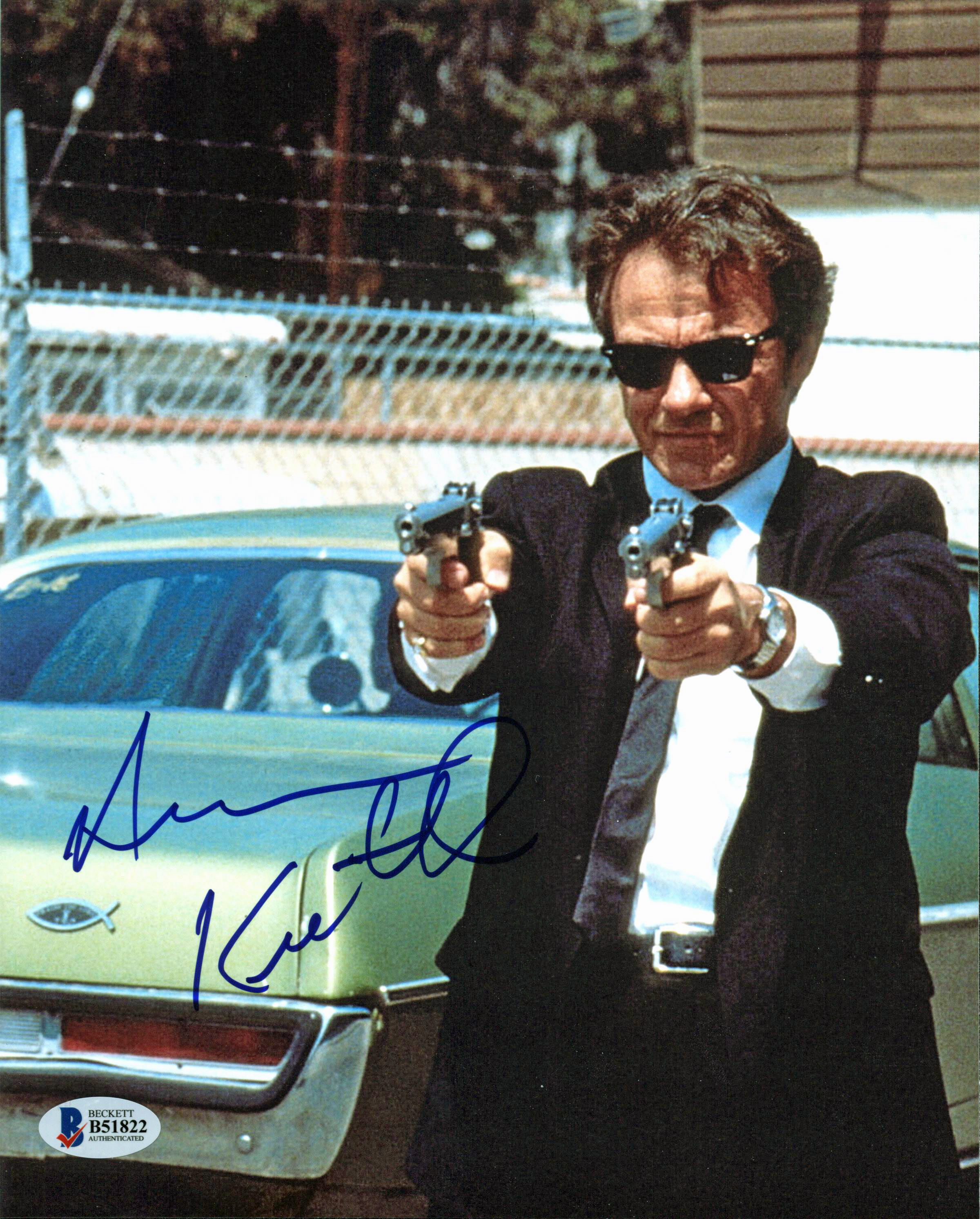 Harvey Keitel Reservoir Dogs Authentic Signed 8X10 Photo Autographed BAS #B51822