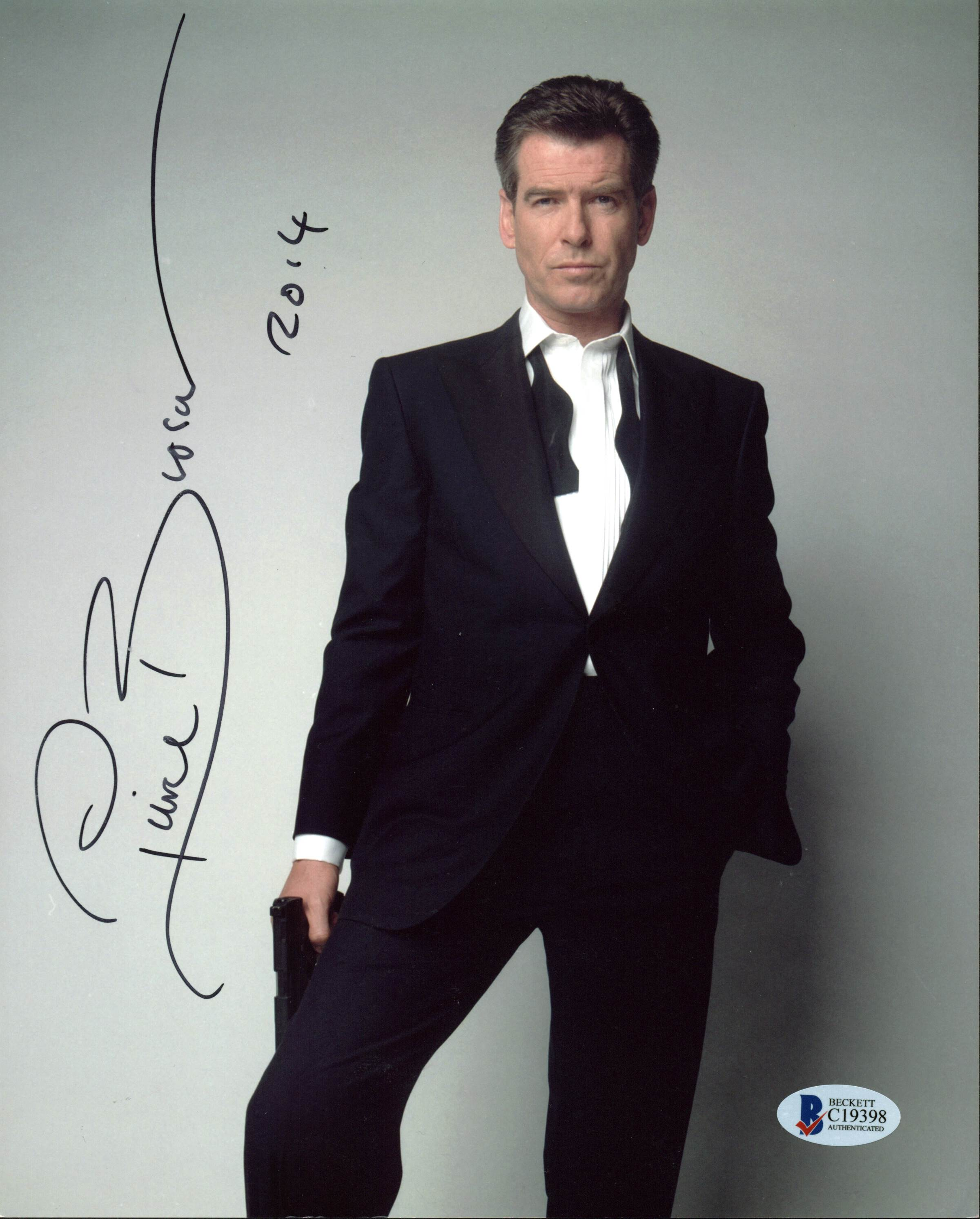 Pierce Brosnan James Bond 007 Authentic Signed 8X10 Photo BAS #C15005
