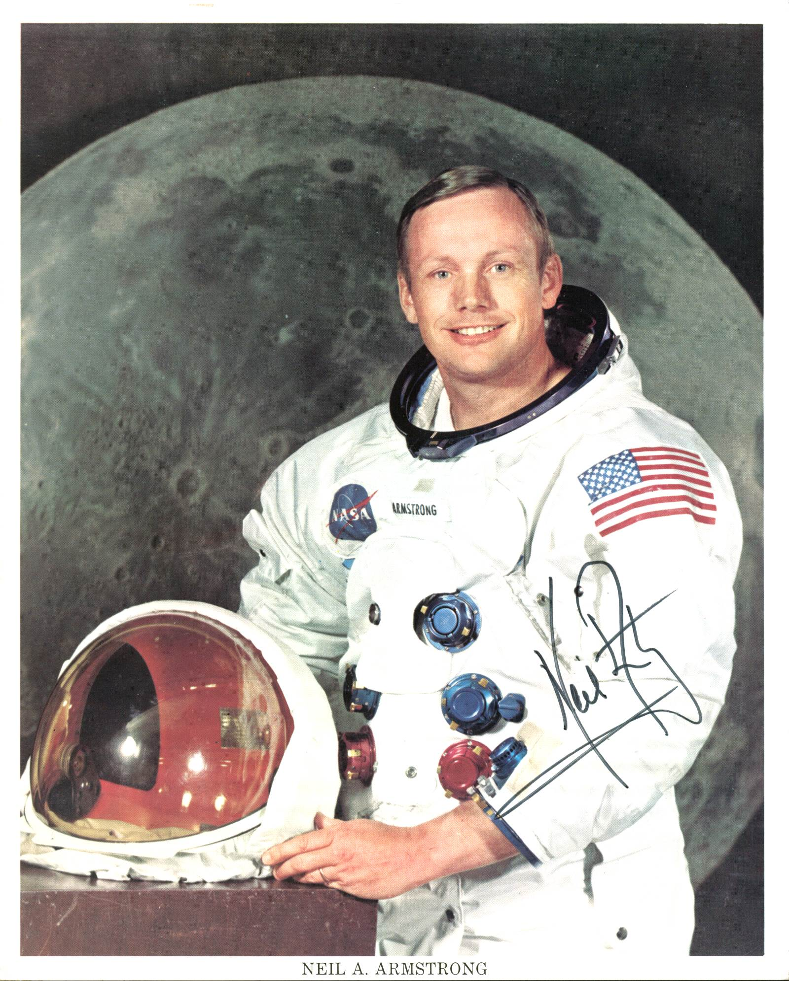 Neil Armstrong Signed 8X10 Apollo 11 Photo (Not ...